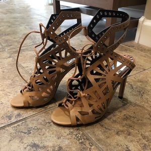 Dolce vita cutout leather heels